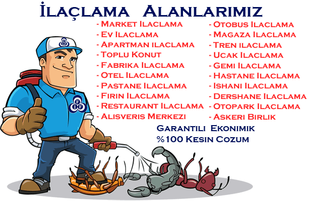 İzmir İlaçlama Firmaları